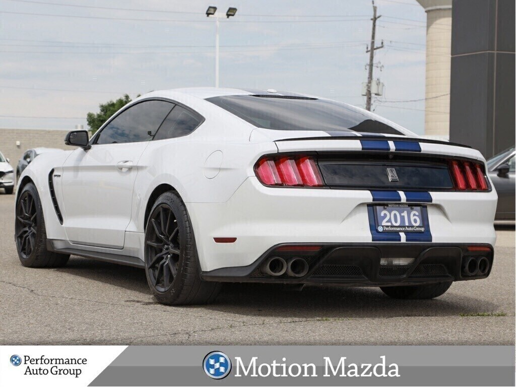 Pre-Owned 2016 Ford Mustang Shelby GT350 6Spd Tech Pkg Leather Racing Stripes Navi