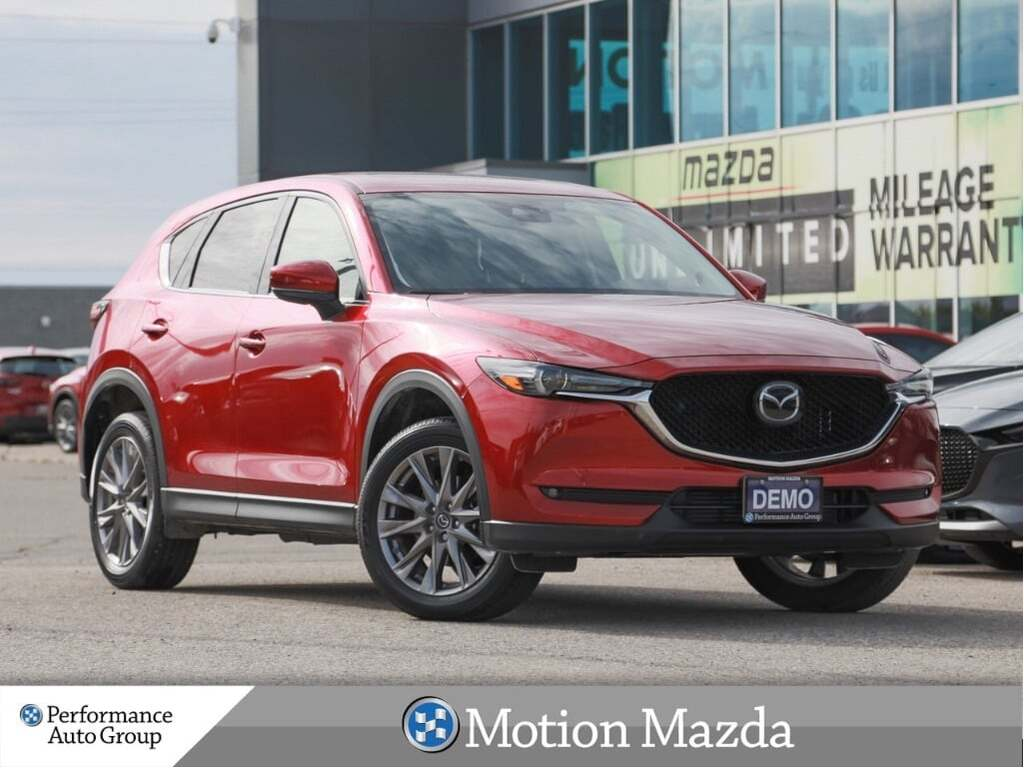 Pre-Owned 2019 Mazda CX-5 GT w/Turbo AWD USED DEMO Leather Roof Navi