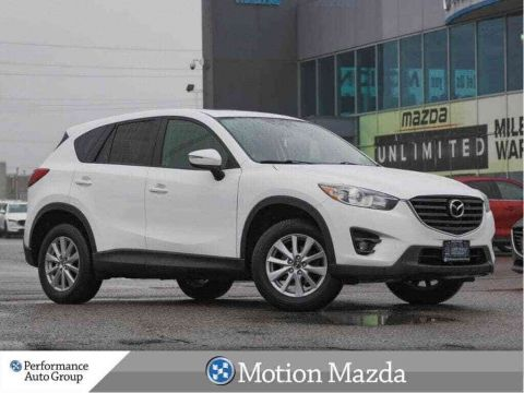 Pre-Owned 2016 Mazda CX-5 GS AWD Sunroof Leather Navi