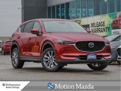 Pre-Owned 2019 Mazda CX-5 GT AWD USED DEMO Leather Roof Navi