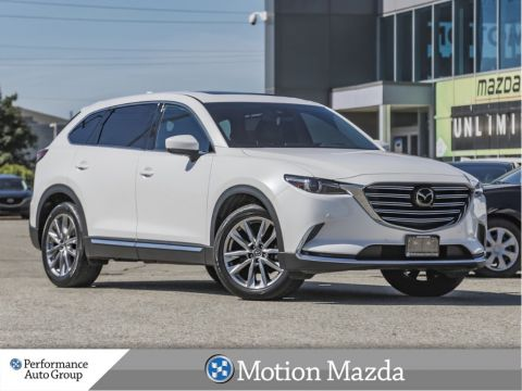 Pre-Owned 2018 Mazda CX-9 GT AWD Leather Roof Navi 7 Passenger